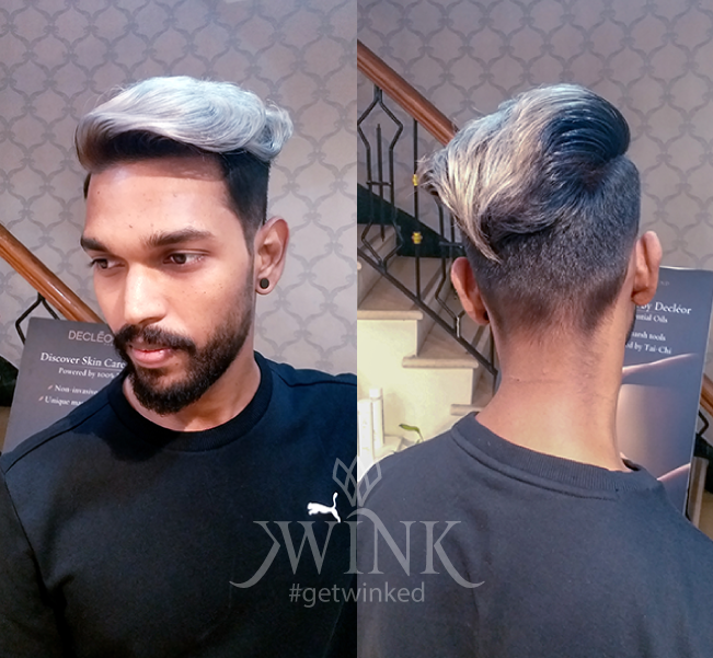 Partition and high fade haircut