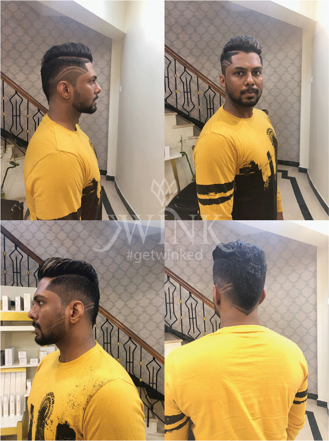 side croped Haircut for men