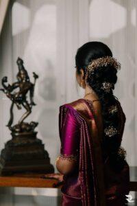 Bronzed Brilliance - Bridal Hairstyle Designs