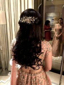 Glossy Princess - Bridal Hairstyle Designs