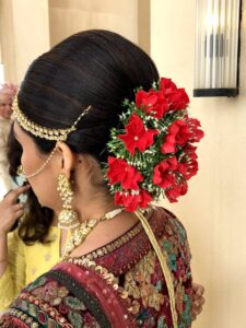 Rosy and cosy - Bridal Hairstyle Designs