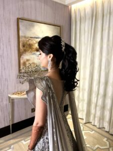 Sassy and breezy - Bridal Hairstyle Designs