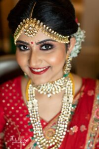 Spirited and Smoky - Bridal Hairstyle Designs