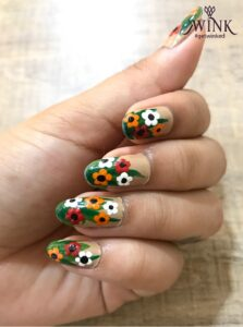 FLORAL GLORY - Nail Art Designs For Chennai Lovers