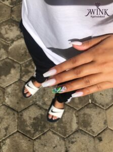 THE BUTTERFLY EFFECT - Nail Art Designs For Chennai Lovers