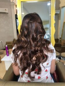 A future with a long brownish hair ahead - Hair Coloring Styles For Women