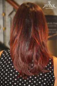 A pretty and neutral red - Hair Coloring Styles For Women