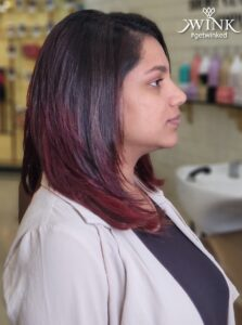 Black Cherry Burgundy is the new cool - Hair Coloring Styles For Women