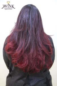 Going the distance with Maroon - Hair Coloring Styles For Women