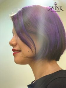 In a world of yellow suns, be purple - Hair Coloring Styles For Women