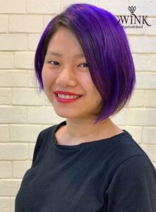 The punchy purple - Hair Coloring Styles For Women