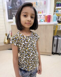 A level ending mid-long bob - Hairstyles For Kids