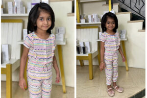 A simple V with an elegant side partition - Hairstyles For Kids