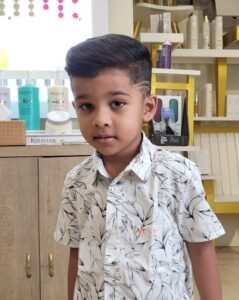 Creative undercut, with a combover - Hairstyles For Kids