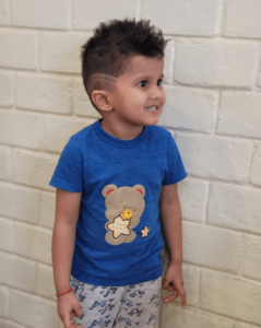 Stylish fauxhawk with designed cuts - Hairstyles For Kids